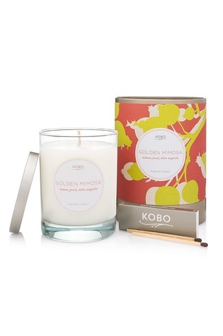 Scented Candle Golden Mimosa Mix Kobo