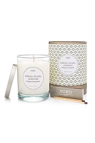 Scented Candle Green Pearl Jasmine Mix