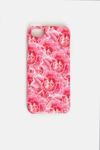 Peonies Iphone Case Pink