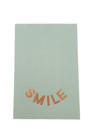 Smile Card Green