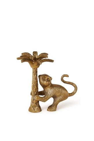 Macy Monkey Right Candle Holder