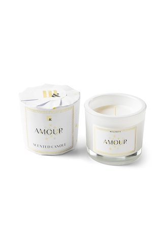 Candle Amour White
