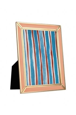 Photo Frame Messing Gold Peach