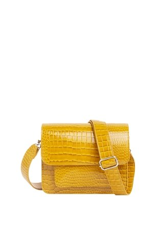 Cayman Pocket Bag Dark Yellow