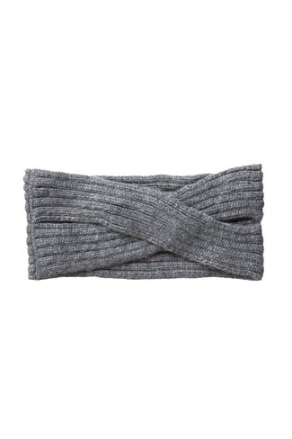 Pcvirtula Twisted Headband Grey