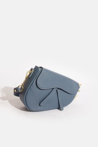 Small Sadle Bag Blue