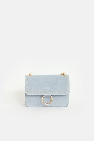 Studded Lilian Bag Light Blue