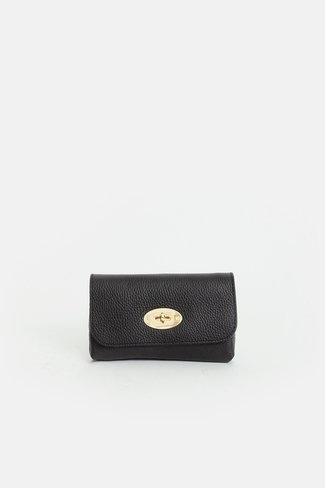 Twist Lock Bag Black
