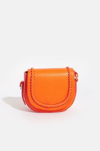 Braided Bag Orange