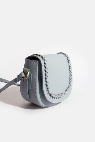 Braided Bag Blue