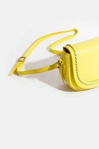 Braided Bag Yellow