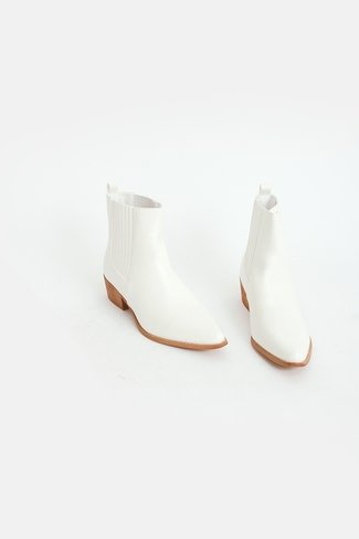Western Boots White