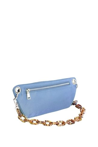 Nylon Bum Bag Blue