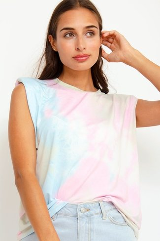 Padded Tie Dye Top Mix