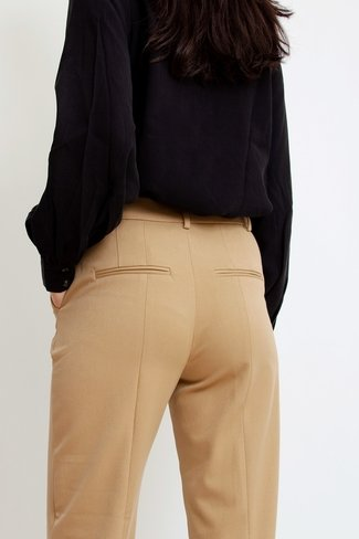 Maii Flared Pants Camel