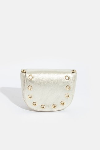 Studded Ring Bag Gold Sweet Like You