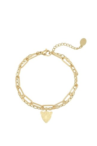 Heads up Bracelet Gold