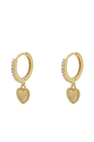 Lovely Earrings Gold
