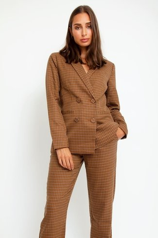 Check Yasrubina Blazer Brown