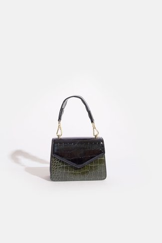 Solid Kelly Bag Black Mix