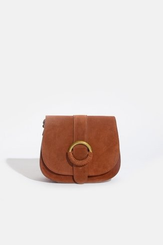 Suede Ring Bag Brown Sweet Like You