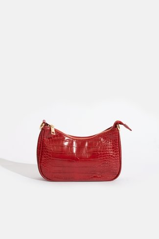 Mini Croco Bag Red Sweet Like You