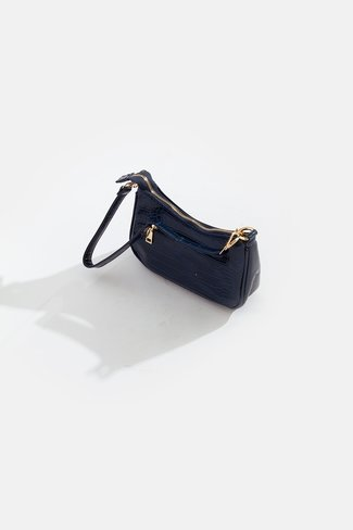 Mini Croco Bag Blue Sweet Like You