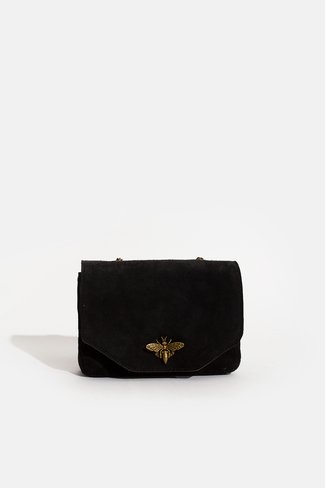 Dragonfly Mini Chain Bag Black