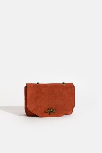 Dragonfly Mini Chain Bag Rust