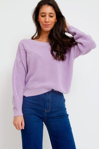 Leceres Sweater Lilac